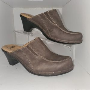 Sofft 1506340 Wos Shoes Clogs US9M Brown Leather